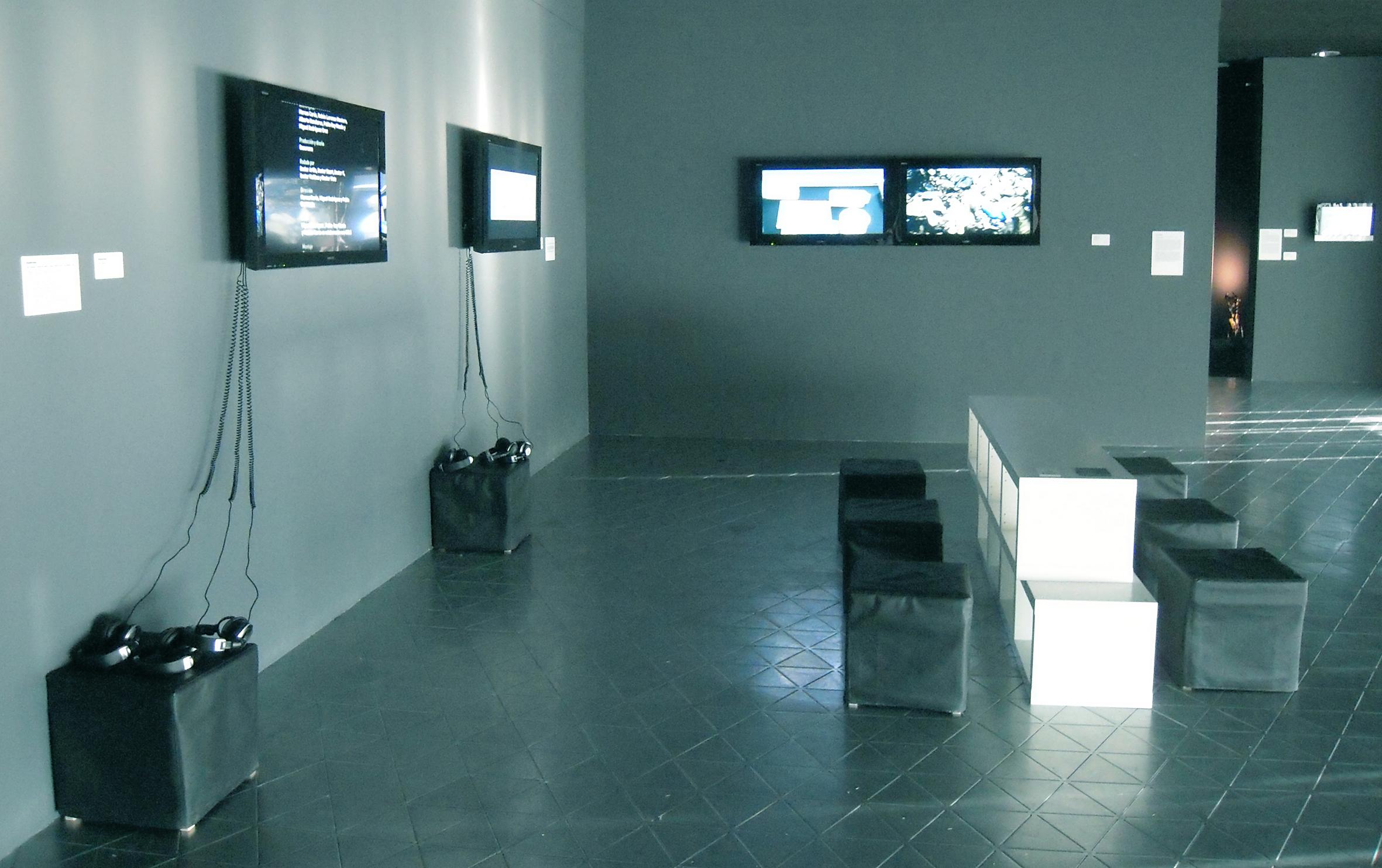 Espacio dedicado al colectivo de arquitectos Basurama, con vídeos didácticos e irónicos y documentación bibliográfica. (C) PRAE