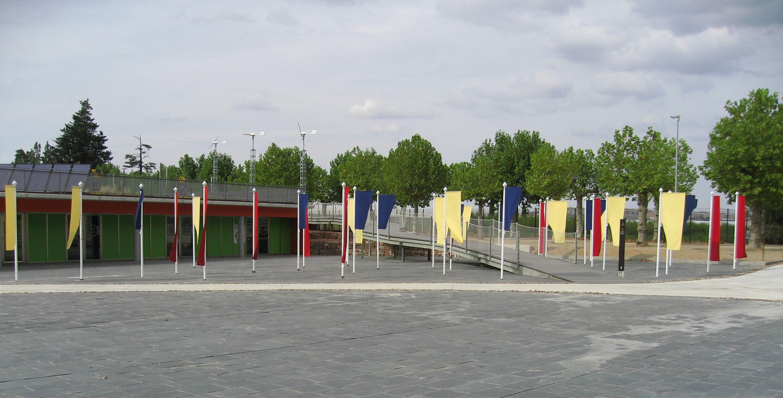 El parque ambiental. El aulario