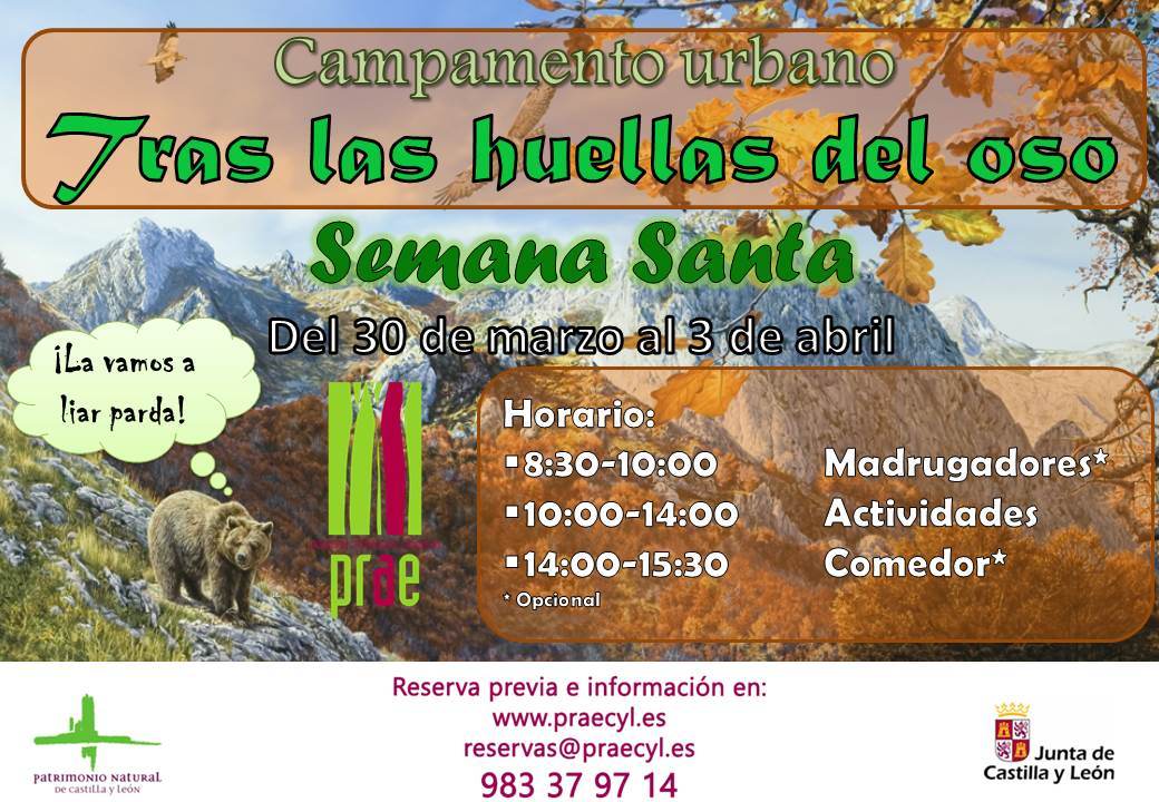 Campamento Semana Santa 2015