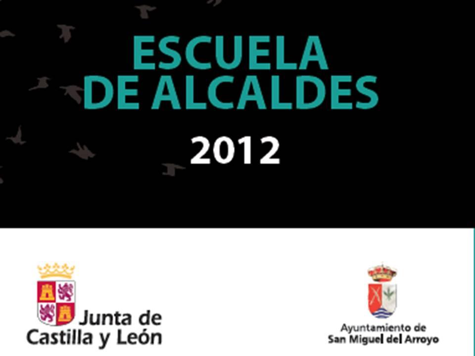 Nueva edición de la escuela de Alcaldes 2012