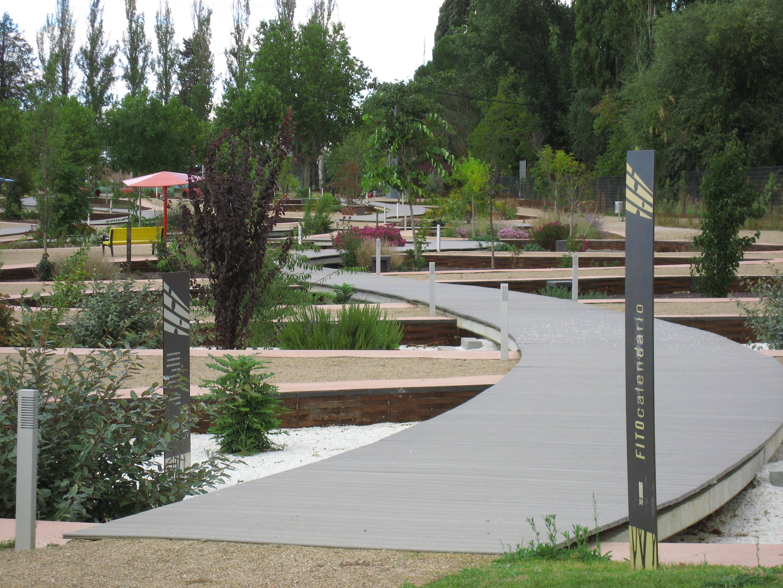El parque ambiental. El fitocalendario
