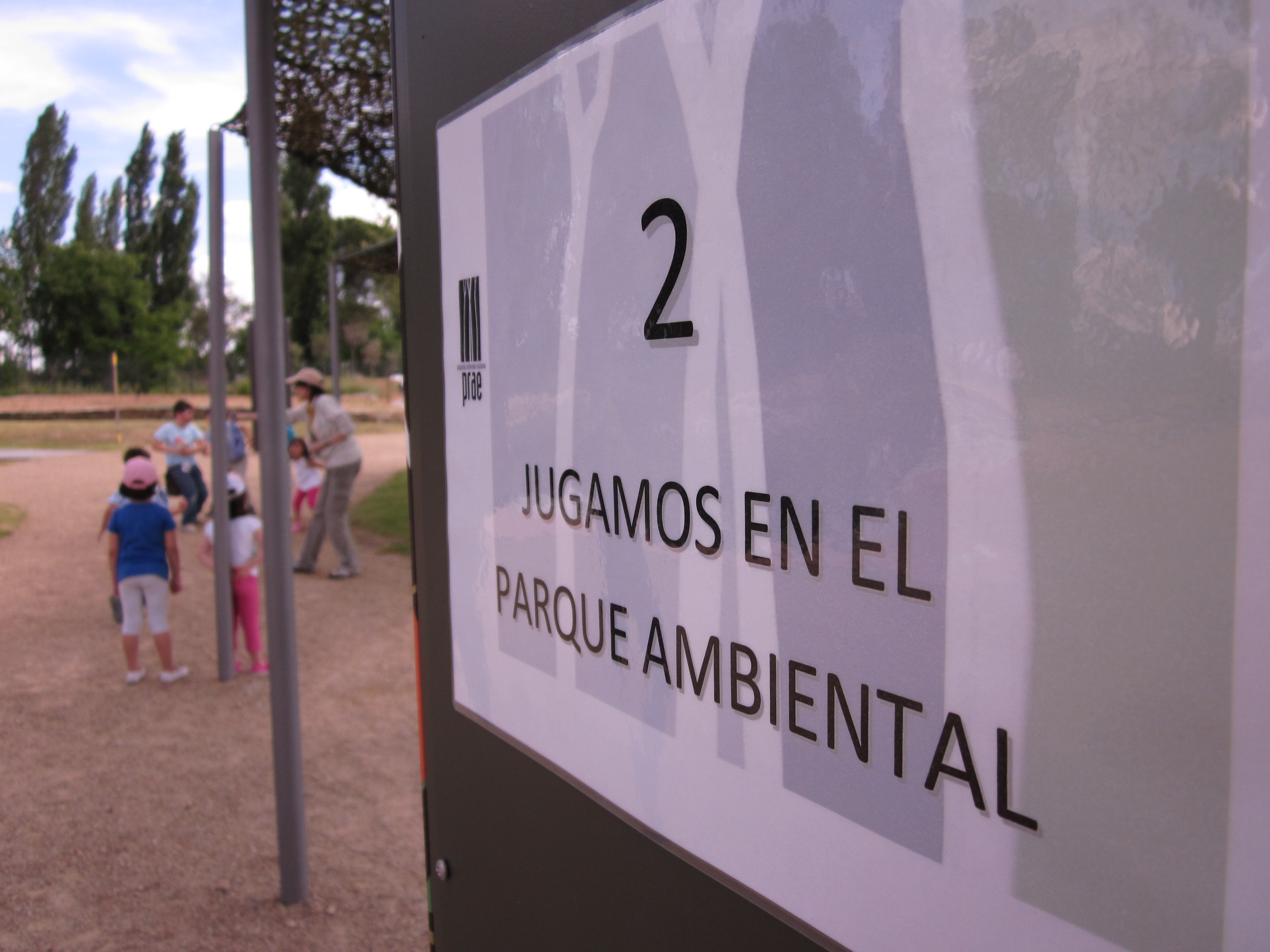 Talleres de juegos educativos en el Parque Ambiental