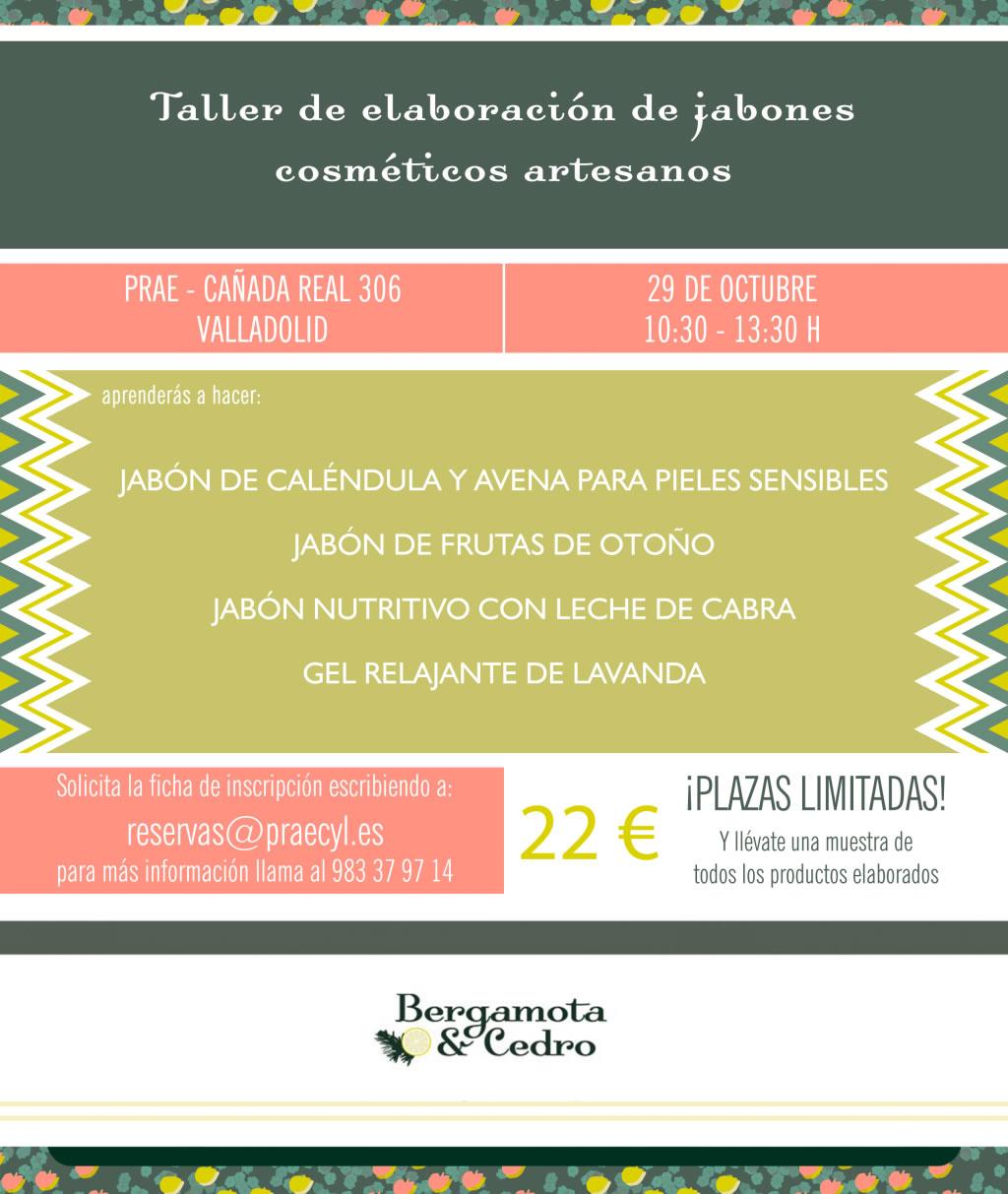 TALLER DE ELABORACIÓN DE JABONES COSMÉTICOS NATURALES