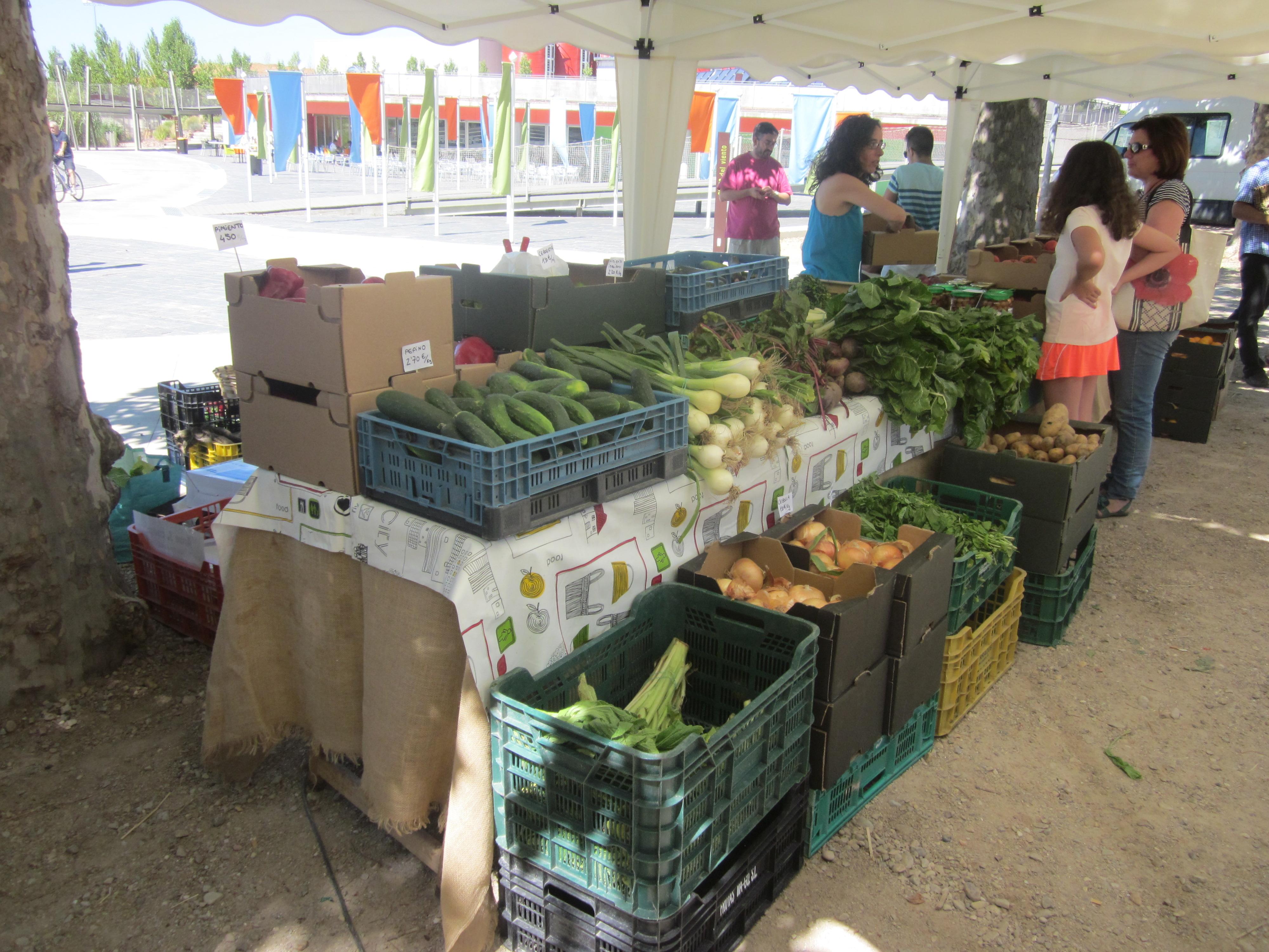 Domingo 30 de octubre - Mercado ecológico