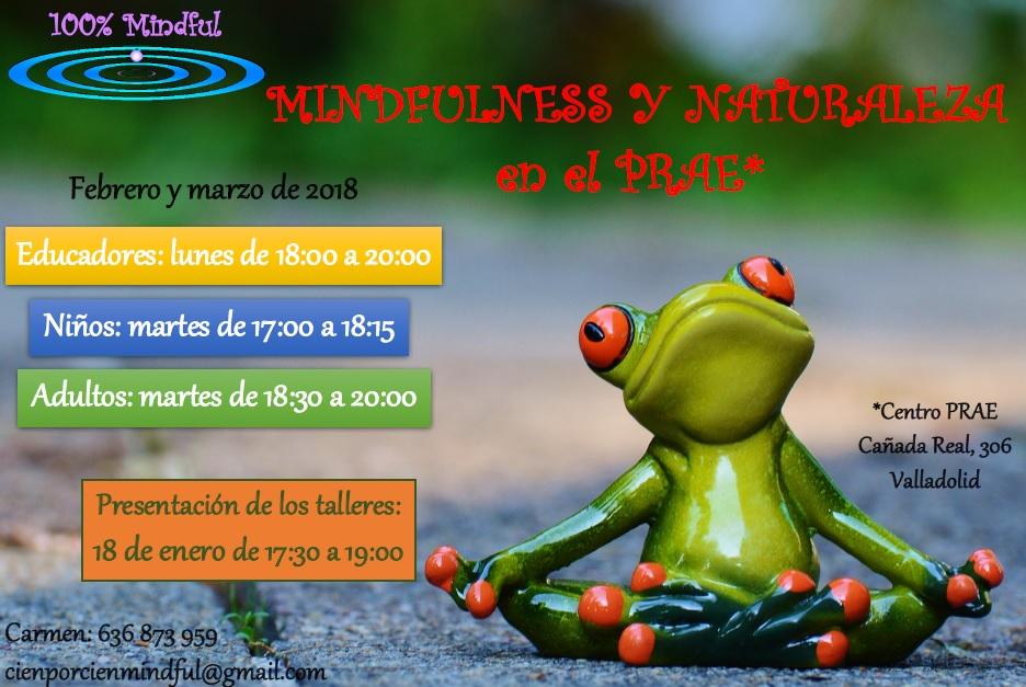 CURSOS MINDFULNESS Y NATURALEZA EN EL PRAE