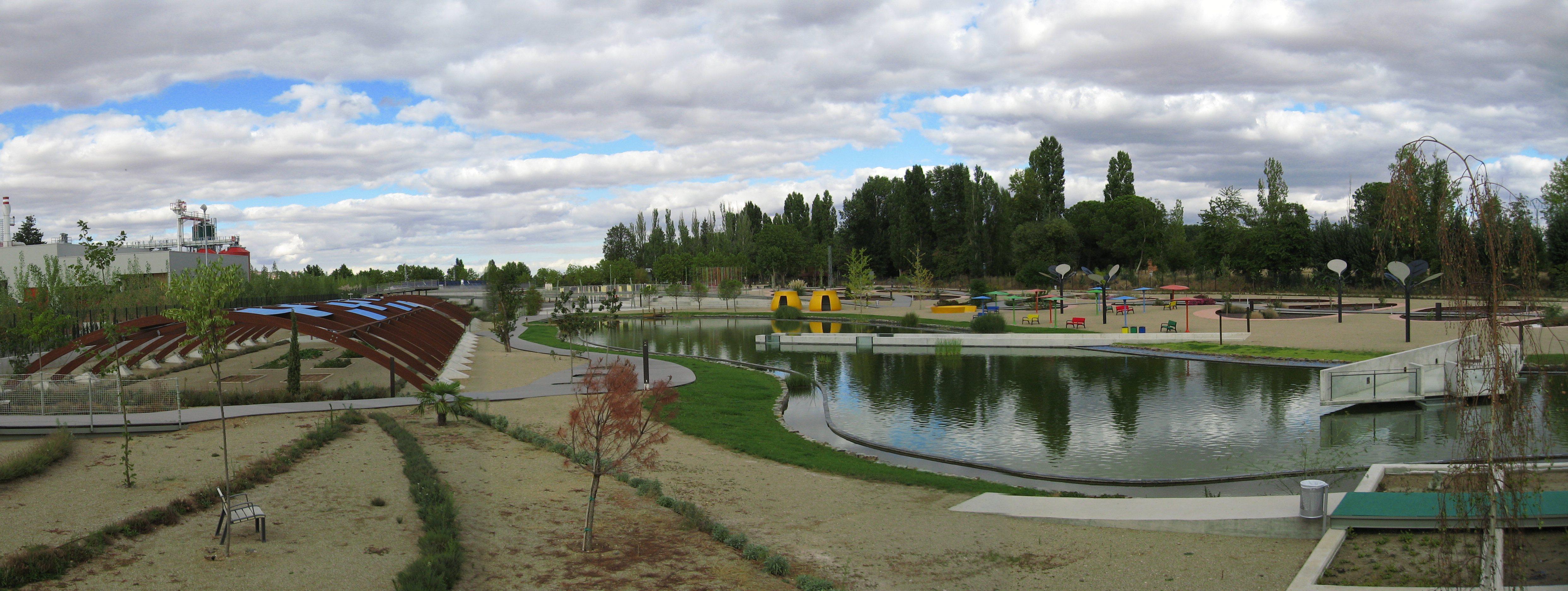 Vista general del Parque ambiental