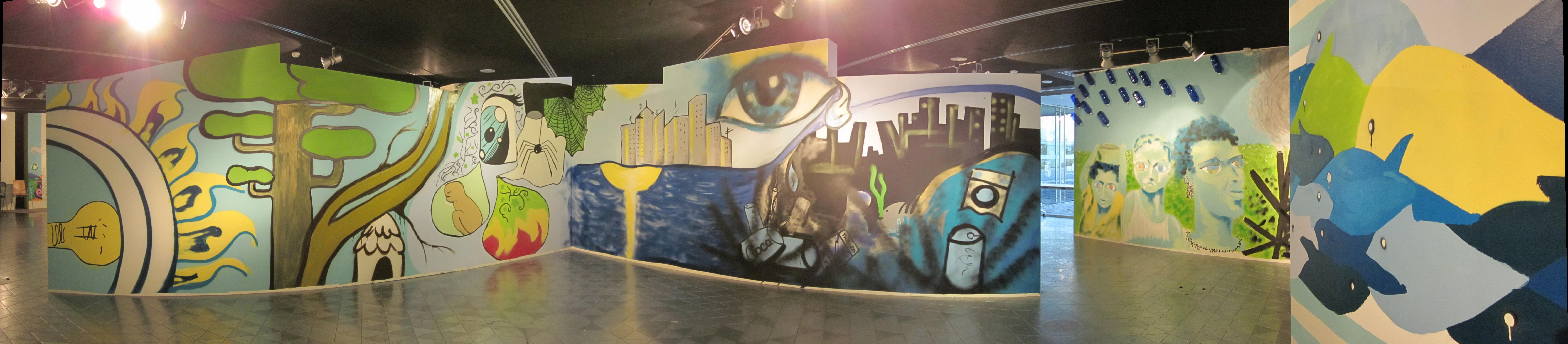 Visión general de la Exposición de Grafittis