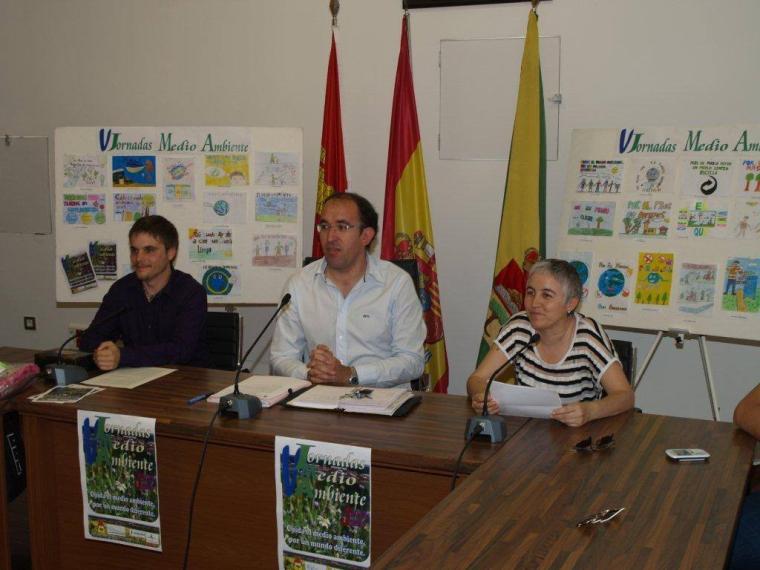 Inicio de las V jornadas de medio ambiente de Pedrajas de San Esteban