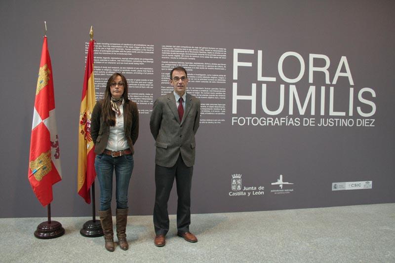 La Directora General y el Director del Botánico. (Autor: Carlos de Mier Ruiz)