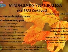 Mindfulness y naturaleza en el PRAE. Edición otoño 2018