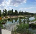 El parque ambiental. El sistema lagunar