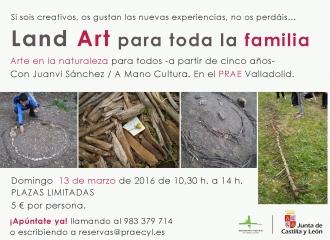 Jornada de arte y naturaleza para peques