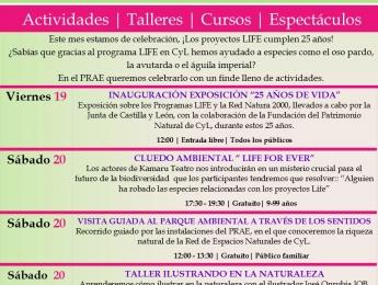 Celebración de los 25 años de Proyectos LIFE en Castilla y León