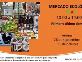 Mercado Ecológico primer y último domingo de mes