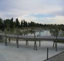 El parque ambiental. La pasarela