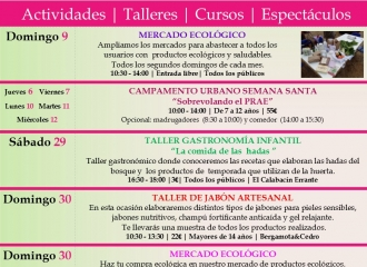 FINDES AMBIENTALES ABRIL